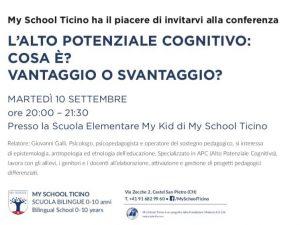 conferenza 10 settembre 2019