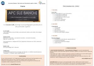 APC sui banchi - L'alto potenziale cognitivo a scuola