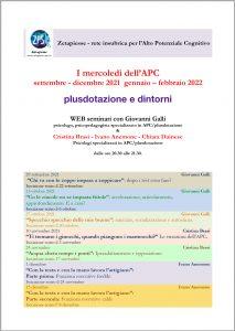 Read more about the article I mercoledì dell'APC – seminari web per genitori