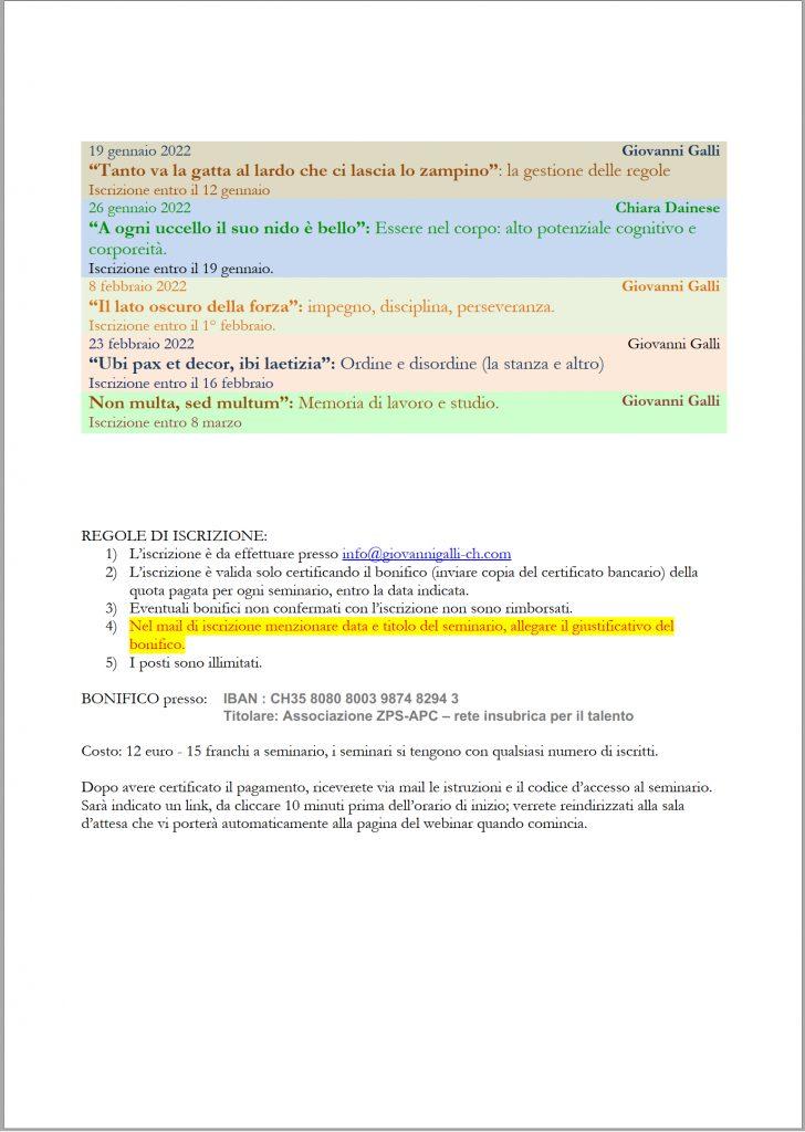 seminari web per genitori 2